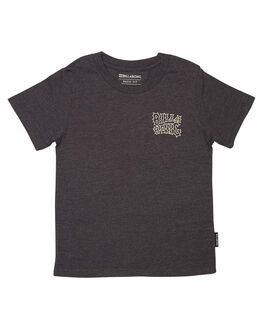 BLACK HEATHER KIDS TODDLER BOYS BILLABONG TEES - 7572002BLKH