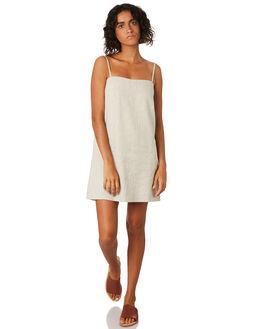 WHITE STRIPE WOMENS CLOTHING COOLS CLUB DRESSES - 204-CW2STRIPE