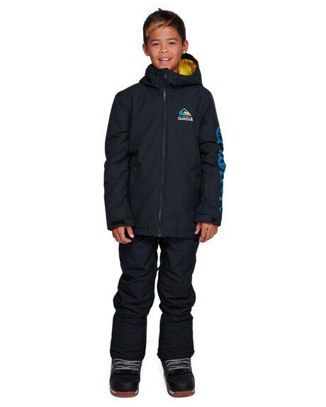 BLACK BOARDSPORTS SNOW QUIKSILVER KIDS - EQBTJ03100-KVJ0