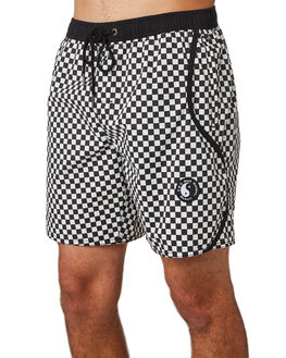 CHECKER MENS CLOTHING TOWN AND COUNTRY BOARDSHORTS - TBO413ECHECK