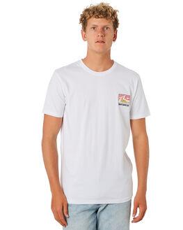 WHITE MENS CLOTHING RUSTY TEES - TTM2270WHT