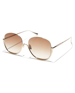 GOLD WOMENS ACCESSORIES SUNDAY SOMEWHERE SUNGLASSES - SUN177GOL