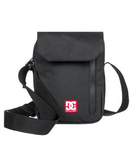 BLACK MENS ACCESSORIES DC SHOES BAGS + BACKPACKS - EDYBA03059-KVJ0