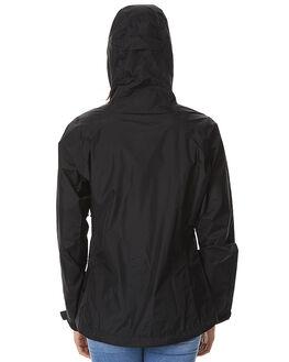 BLACK WOMENS CLOTHING PATAGONIA JACKETS - 8387BLK