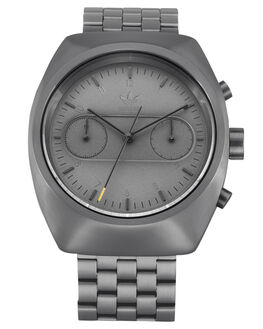 ALL GUNMETAL MENS ACCESSORIES ADIDAS WATCHES - Z18-632