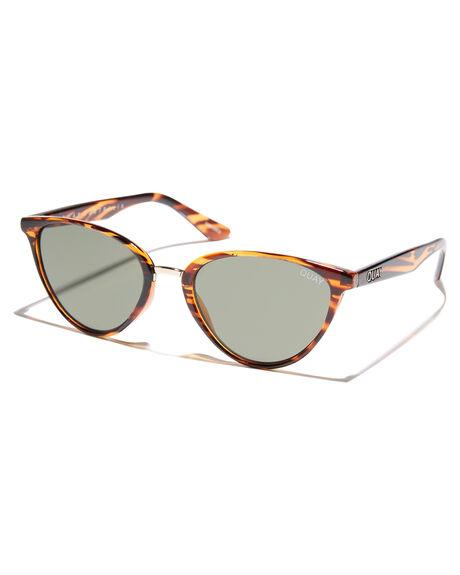 485735f6c6f Quay Eyewear Rumours Sunglasses - Tort Green