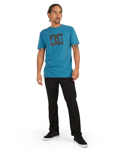 BLACK MENS CLOTHING DC SHOES PANTS - ADYNP03062-KVJ0