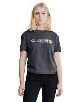 TARMAC WOMENS CLOTHING QUIKSILVER TEES - EQWKT03003-KTA0