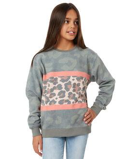 PRINT KIDS GIRLS EVES SISTER JUMPERS + JACKETS - 9550068PRNT