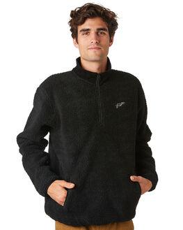 CHARCOAL MENS CLOTHING RHYTHM JUMPERS - JAN20M-FL02-CHA