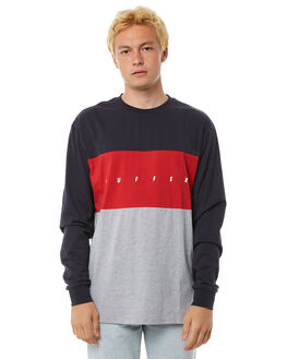 NAVY MENS CLOTHING HUFFER TEES - MLS81S665NVY