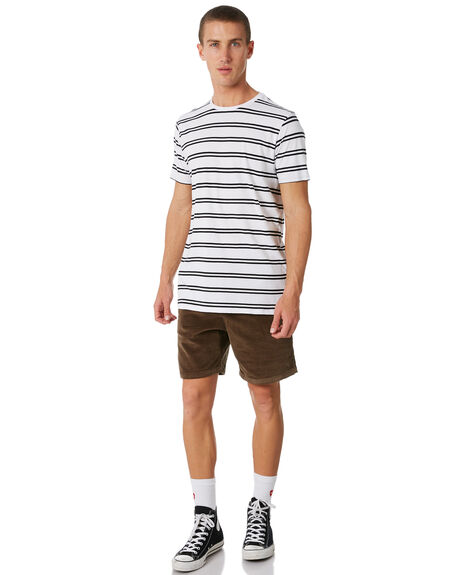 BLACK OUTLET MENS SWELL TEES - S5184018BLACK