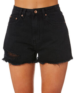 WASH BLACK WOMENS CLOTHING INSIGHT SHORTS - 1000084095WSHBK