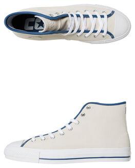 WHITE MASON BLUE MENS FOOTWEAR CONVERSE SKATE SHOES - SS161518WHMAM