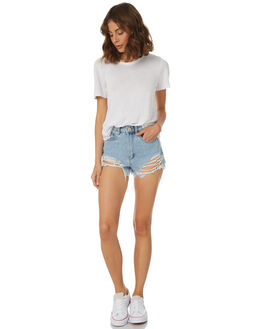 BLOCK PARTY WOMENS CLOTHING A.BRAND SHORTS - 71245-4033