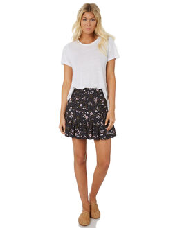 BLACK WOMENS CLOTHING THE HIDDEN WAY SKIRTS - H8188472BLACK