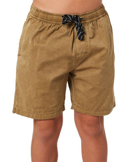 WASHED SAND KIDS BOYS SWELL SHORTS - S3184234WSHSD