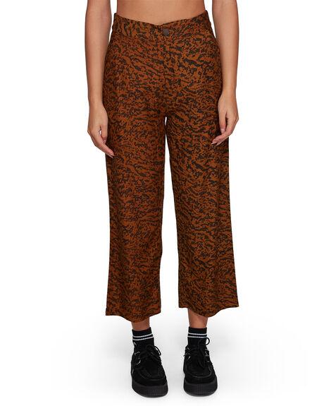 ANTIQUE BRON WOMENS CLOTHING RVCA PANTS - RV-R207275-A64