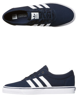 NAVY WHITE WOMENS FOOTWEAR ADIDAS ORIGINALS SKATE SHOES - SSBY4031NVYW