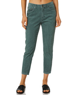EVERGREEN WOMENS CLOTHING RUSTY JEANS - PAL1097EVG