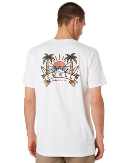 WHITE MENS CLOTHING SWELL TEES - S5201025WHITE