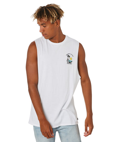 WHITE MENS CLOTHING SWELL SINGLETS - S5203270WHITE