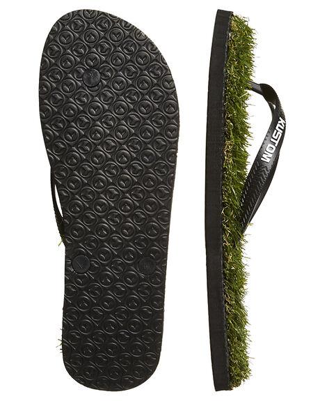 GRASS GREEN MENS FOOTWEAR KUSTOM THONGS - 4946208AGRN