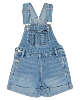 BLEACHED INDIGO KIDS GIRLS RIDERS BY LEE DRESSES + PLAYSUITS - R-80151K-LL3BLCH