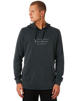 CHARCOAL MENS CLOTHING RHYTHM JUMPERS - APR18M-FL04CHA
