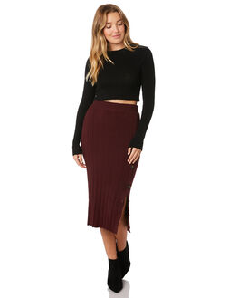 MULBERRY WOMENS CLOTHING SASS SKIRTS - 13590SKSSMULB