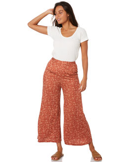 STEVIE FLORAL WOMENS CLOTHING THE HIDDEN WAY PANTS - H8189192STVFL