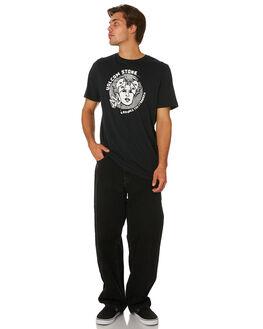 BLACK MENS CLOTHING VOLCOM TEES - A5031902BLK