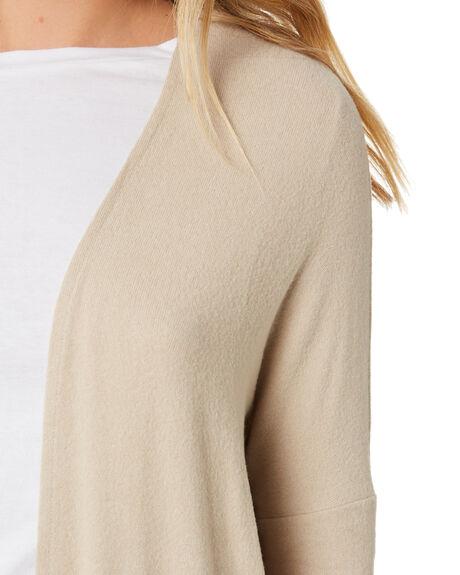OATMEAL WOMENS CLOTHING BETTY BASICS KNITS + CARDIGANS - BB730H20OAT