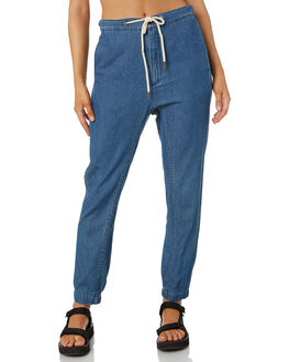 GRIND BLUE WOMENS CLOTHING RUSTY PANTS - PAL1154GDB