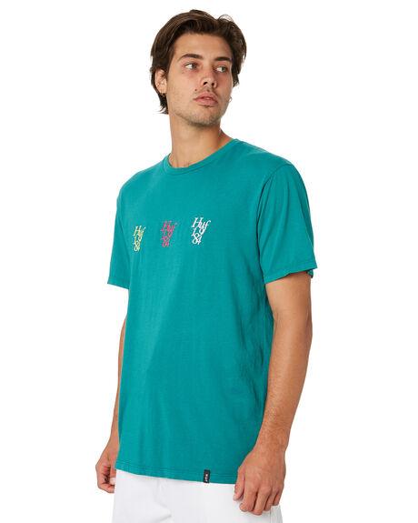 DEEP JUNGLE MENS CLOTHING HUF TEES - TS00569-DPJNG