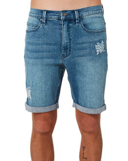 SALT BLUE MENS CLOTHING RIP CURL SHORTS - CWALW19421
