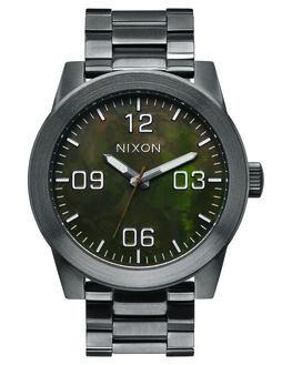 GUNMETAL GREEN OXYDE MENS ACCESSORIES NIXON WATCHES - A3462069