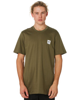 RAW KHAKI MENS CLOTHING ADIDAS TEES - DU8359KHAKI