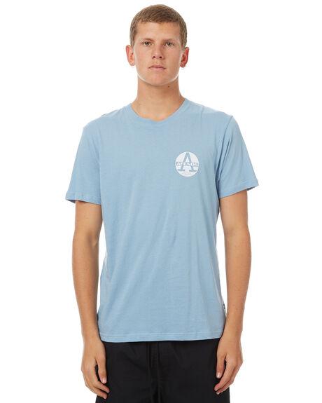 DUSK BLUE MENS CLOTHING AFENDS TEES - 01-01-291DBLU