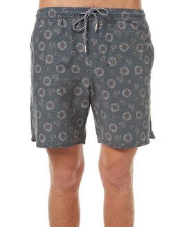 MIDNIGHT NAVY MENS CLOTHING RHYTHM BOARDSHORTS - OCT17M-JM06-NAV