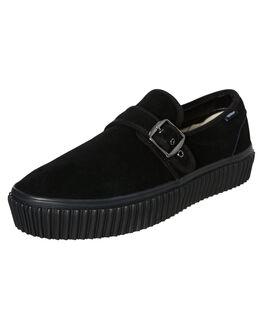BLACK MENS FOOTWEAR VANS SNEAKERS - SSVN0A4U1BBKABLKM