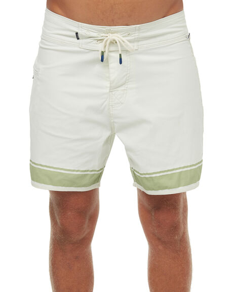 BLANC MENS CLOTHING THE CRITICAL SLIDE SOCIETY BOARDSHORTS - BS1828BLANC