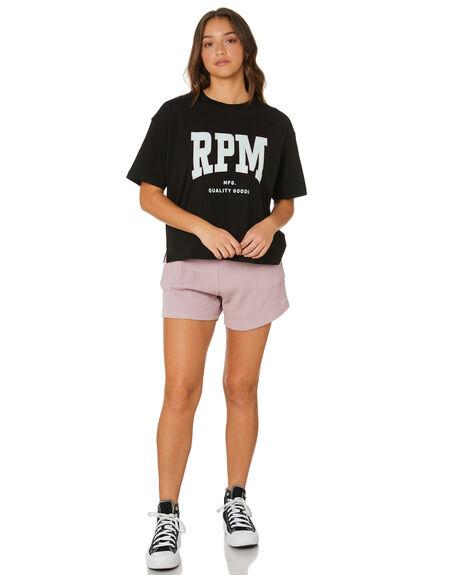 MAUVE WOMENS CLOTHING RPM SHORTS - 21PW17AMVE