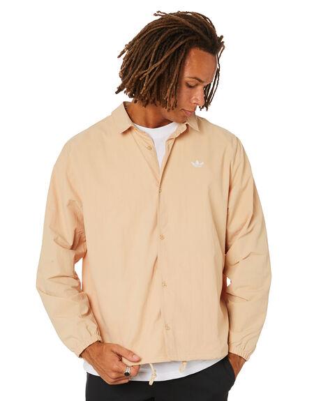 HAZY BEIGE WHITE MENS CLOTHING ADIDAS SHIRTS - GL9969HBW