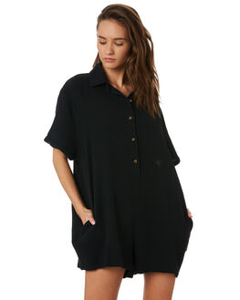 BLACK WOMENS CLOTHING SWELL PLAYSUITS + OVERALLS - S8201452BLACK