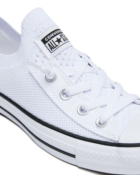 WHITE WOMENS FOOTWEAR CONVERSE SNEAKERS - 565490CWHT