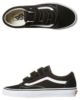 BLACK WHITE MENS FOOTWEAR VANS SNEAKERS - VN-A3D29OIUBKWH