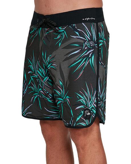 BLACK MENS CLOTHING QUIKSILVER BOARDSHORTS - EQYBS04399-KVJ6