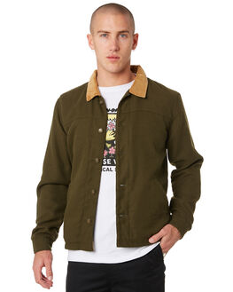 FATIGUE MENS CLOTHING THE CRITICAL SLIDE SOCIETY JACKETS - JK1817FATIG