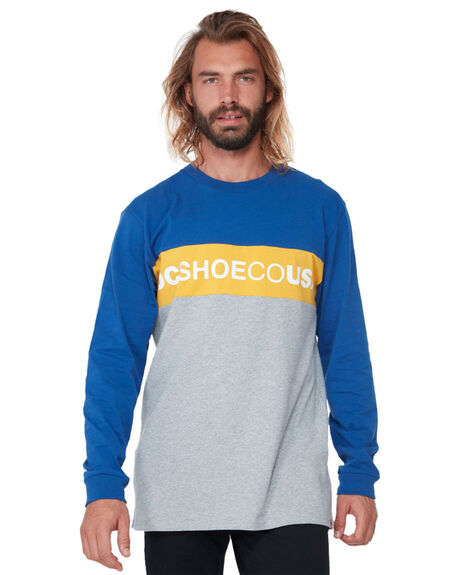 SODALITE BLUE MENS CLOTHING DC SHOES TEES - UDYZT03550BYB0